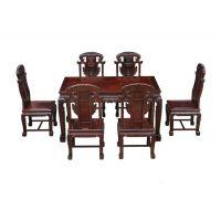 武汉黑酸枝红木家具市场位置,古典中式餐桌圆台图片价格