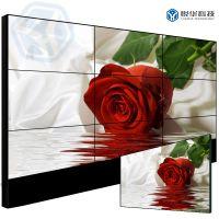 悦华科技55寸三星液晶拼接屏超窄边安防监控电视拼接墙
