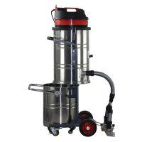玻璃纤维制造业专用吸尘器吸硬化表面打磨粉尘和残渣用威德尔手推式工业吸尘器