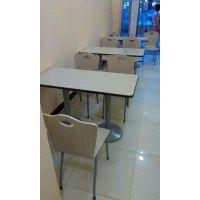 天津快餐桌椅组合,食堂餐厅小吃桌,专业生产销售