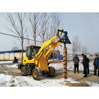 电线杆挖坑机 光伏发电钻孔机厂家 鼎力工具