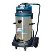 西安吸尘吸水机 凯德威2400W工业吸尘器
