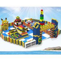 大型商场中庭EPP积木儿童乐园墙城堡幼儿园家庭玩具