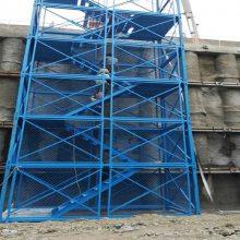 供应扬州梯笼爬梯新型箱式梯笼河北通达生产厂家