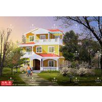 河北农村自建房设计图 一层二层 私人订制