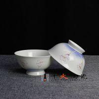 餐具套装56头时尚骨瓷碗碟套装景德镇盘子碗具家用礼品