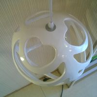 新款现代简约艺术设计师灯饰玛斯欧树脂灯具球形吊灯红色小款MS-P1004S250*250mm餐厅吊灯