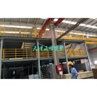 营品阁楼货架方案 钢结构平台的优点 现代化仓储图片