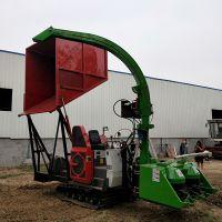 定制地滚刀式 柴油收割粉碎玉米秸秆青储机 全自动秸秆粉碎青储机