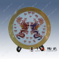 景德镇厂家制作瓷盘 瓷盘可印影像 彩色照片瓷盘 瓷盘订做
