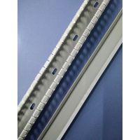供应银灰色高品质PVC线槽 配电柜线槽 方线槽30*30