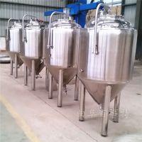 各种型号不锈钢发酵罐 百事特啤酒设备欢迎您来厂参观