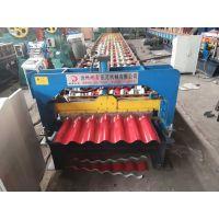 彩钢瓦设备直销780横挂板机器压瓦机地鑫机械