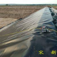 1.5mm厚HDPE土工膜在水泥墙的锚固方法