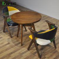 卡航家具厂专营圆形实木小茶几 客厅简约沙发边几角几咖啡小圆桌日式小茶桌圆几