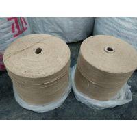 孟加拉黄麻纱线8磅10磅11磅13磅16磅单纱,双股三股