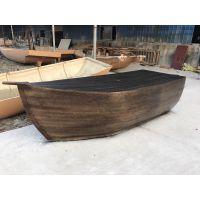 室内海盗船装饰木船定做|陆地道具船|欧式景观船|主题餐厅木船海鲜台吧台餐桌
