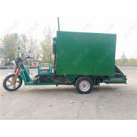 绿色环保奶牛撒料车 提高养牛效益 柴油撒料车 润丰