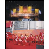 供应2018年温州家博会展台搭建桁架租赁,温州喷绘广告