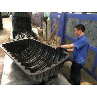 徐州天益家用三格式塑料化粪池 江苏农村厕所改建工程专用化粪池