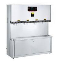 KEMFLO溢泰 西安裕豪不锈钢304节能饮水机校园温热型直饮水机商用饮水台
