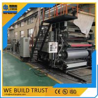 五洲机械PVC石塑板材生产线设备
