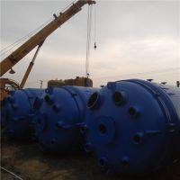 转让淄博太极8000L搪瓷反应釜,近乎全新 回收反应釜