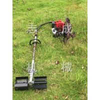 志成新款汽油割草机草坪修剪机园林除草机