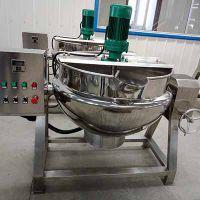 众品厂家直供100L可倾式搅拌夹层炒锅红烧肉蒸煮锅
