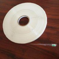 Sunjia牌5毫米OPP印白线环保胶带,HDPE高压专用封缄胶带