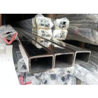 供应45*75*1.0不锈钢砂光面矩形管 316不锈钢砂光面矩形管