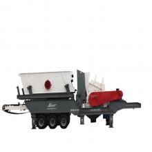 分期付款移动式破碎机,反击式破碎机规格型号-恒美百特
