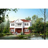定荣家单层美式轻钢别墅4127号新农村规划别墅造价低