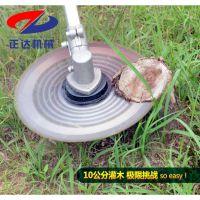 斜挎式割草机 一边倒割稻机 灌木收割机