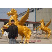 大型铜马_动物雕塑-文禄