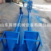 批发粮食螺旋输送机 振德生产 自动上料绞龙提升机 面粉管式上料机