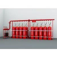 七氟丙烷管网式灭火系统,有管网气体灭火装置