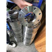 昭通304不锈钢平焊法兰 接管尺寸Φ25