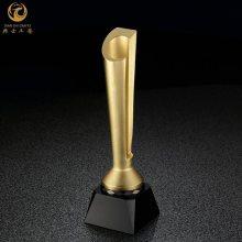 上海金属奖杯定制|合金电镀定制奖杯|科技公司活动奖杯制作