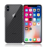 iphone X碳纤维背膜 苹果8Plus全身贴膜 手机保护后膜非钢化玻璃