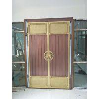 北京铜升门业铜门价格|铜门生产厂家|别墅铜门图片