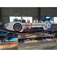 F1极速飞车 新款360度滑行轨道旋转类刺激好玩游乐设备 宝马飞车