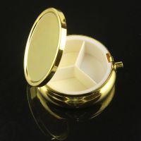 厂家供应金属圆形小药盒