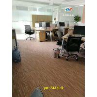 复古木纹胶地板家用办公室幼儿园地板服装店加厚防滑