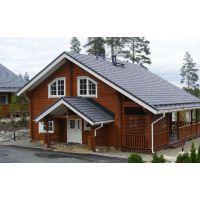 联众井干式木屋;梁柱式结构木屋