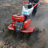双胜特价新款小型松土机 汽油微耕机