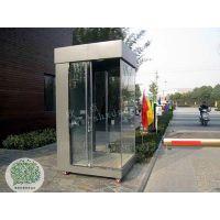 厂家定做现代单位岗亭 玻璃单位亭 玻璃亭可定制 现货