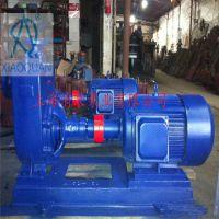 80ZX60-55自吸泵机械密封型号,ZX自吸泵轴承型号
