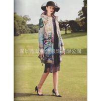 深圳大牌女装一手货走份 品牌尾货折扣女装 时尚纯色100%白鸭绒羽绒服批发