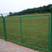 小区铁丝网隔离网 浸塑折弯护栏网 花坛草坪园艺护栏网厂家直销
